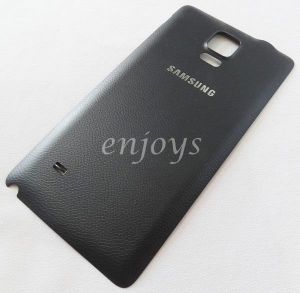 Real ORIGINAL HOUSING Battery Cover Samsung Galaxy Note 4 N910C ~BLACK