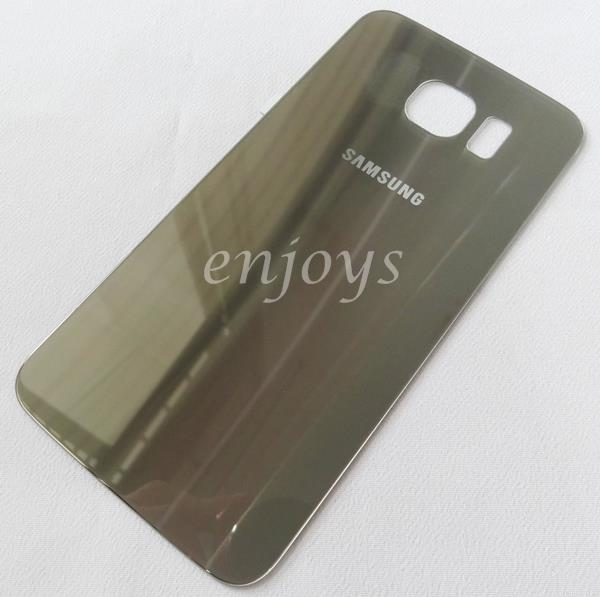 Real ORIGINAL HOUSING Battery Cover Samsung Galaxy S6 / G920F ~GOLD