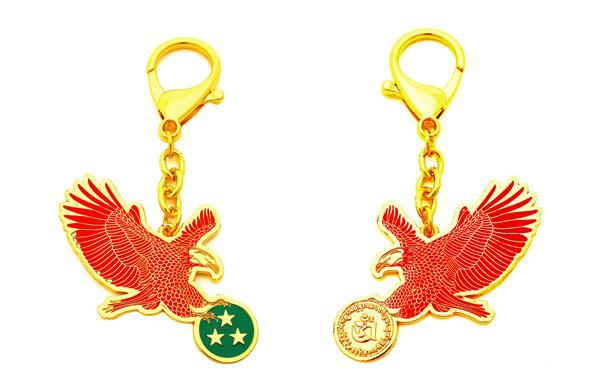 Red Eagle Keychain for Quarrelsome Star