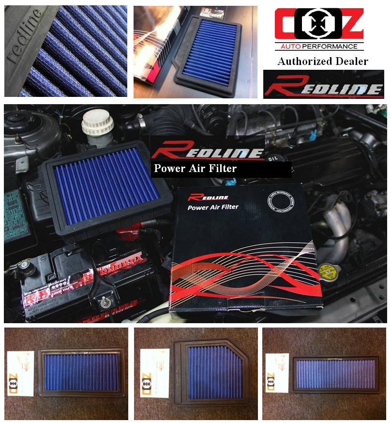 REDLINE HIGH FLOW WASHABLE DROP IN AIR FILTER MITSUBISHI LANCER CY2008