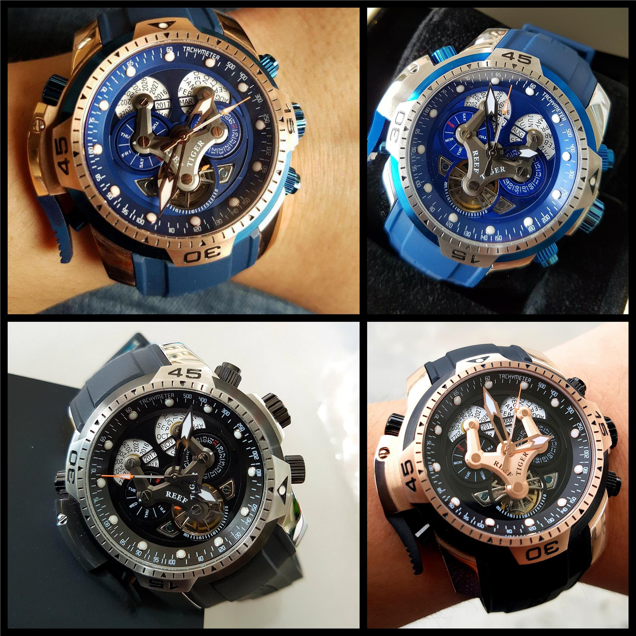 Reef Tiger Aurora Swiss Automatic Limited Edition