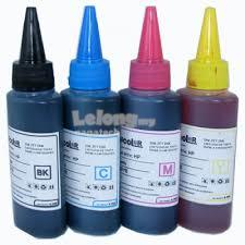 Refill Ink 100ml for Brother Inkjet Printer Set of 5 (Multicolor)