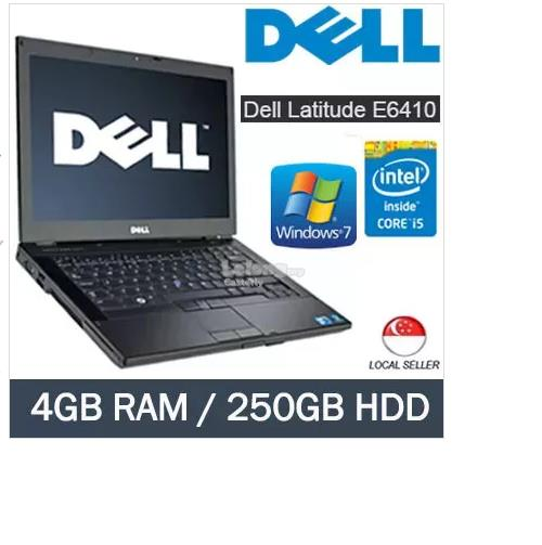 Refurbished Dell Latitude E6410 i5/4GB RAM/250GB HDD (win7)