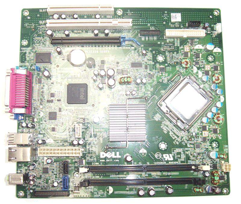 REFURBISHED Dell Optiplex 360 DT Motherboard T656F socket LGA 775