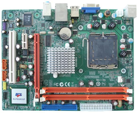 REFURBISHED ECS G31T-M9 Socket 775 motherboard / LGA775 DDR2