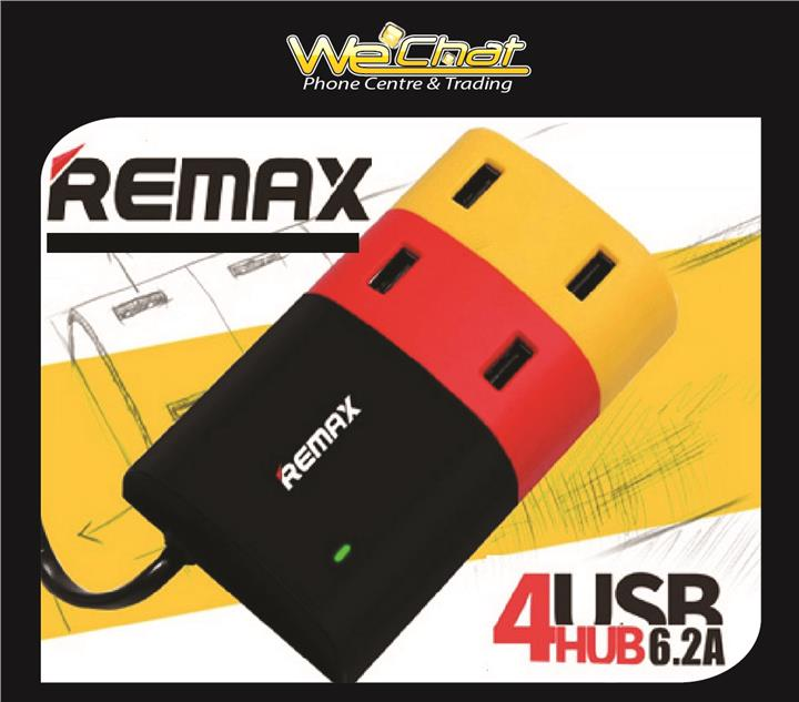 Remax 6.2A 4 Ports USB Charger Socket Dock Station