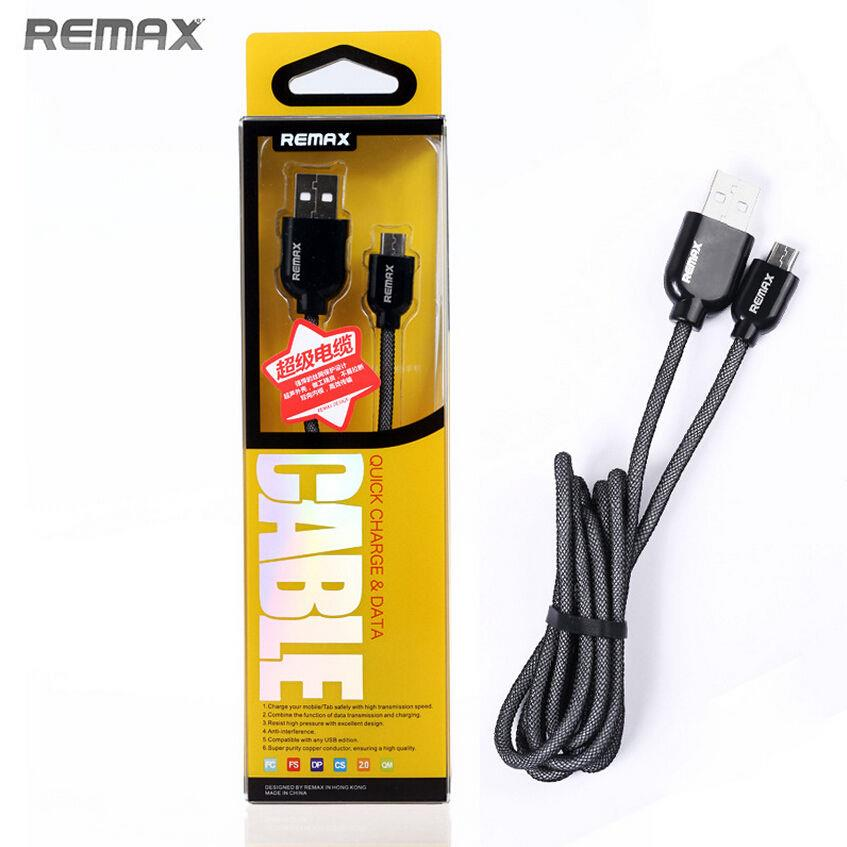 Remax Quick Charge & Data Cable for Android Device, Samsung, Sony