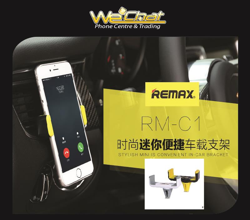 REMAX RM-01  Smart Phone Mini Stainless Steel Car Holder