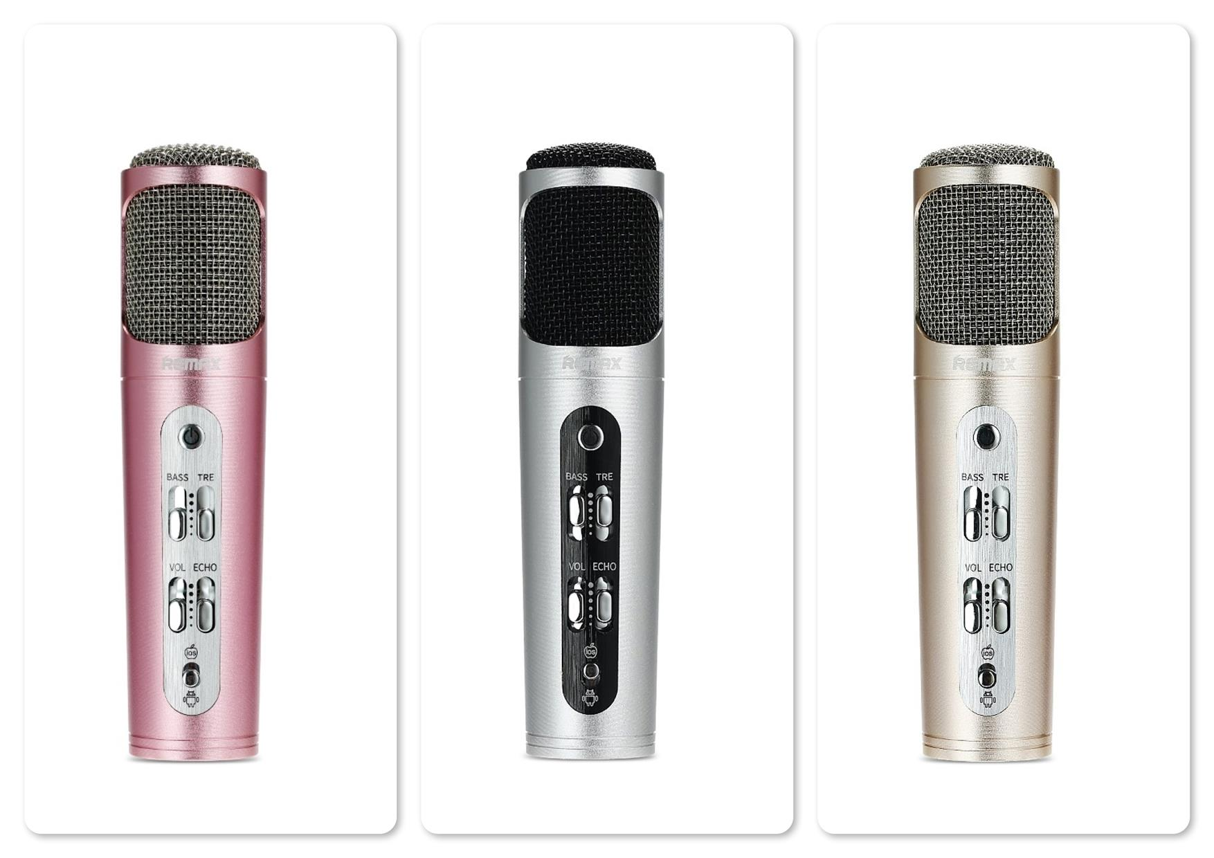 Remax RMK-K02 Professional Karaoke Microphone for Mobile Phone