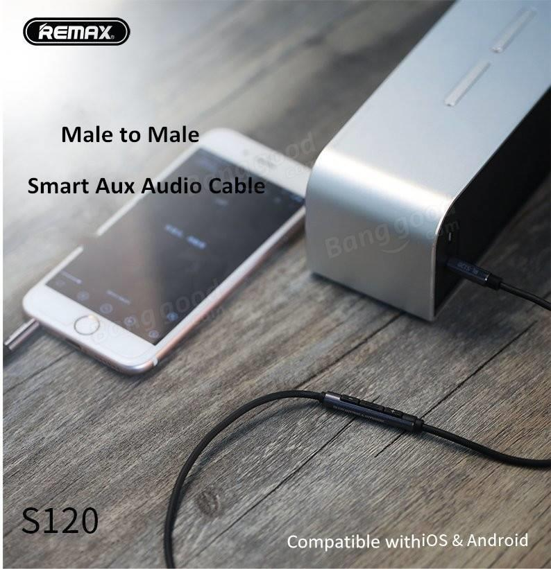 Remax S120 smart audio cable