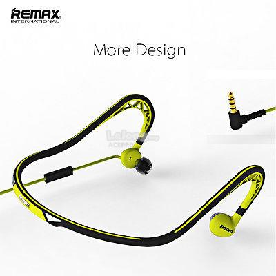 Remax Sports Wired Headset Neckband Headphone Stereo Earphone RM-S15