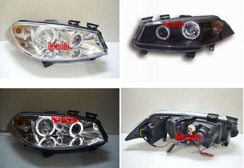 RENAULT MEGANE 03-06 LED Ring Projector Head lamp