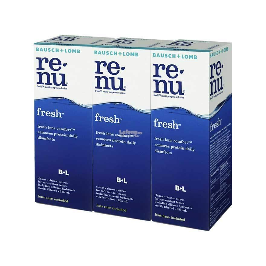 Renu Fresh Triple Pack 335mL