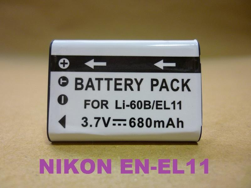 Replacement Battery for Nikon EN-EL11