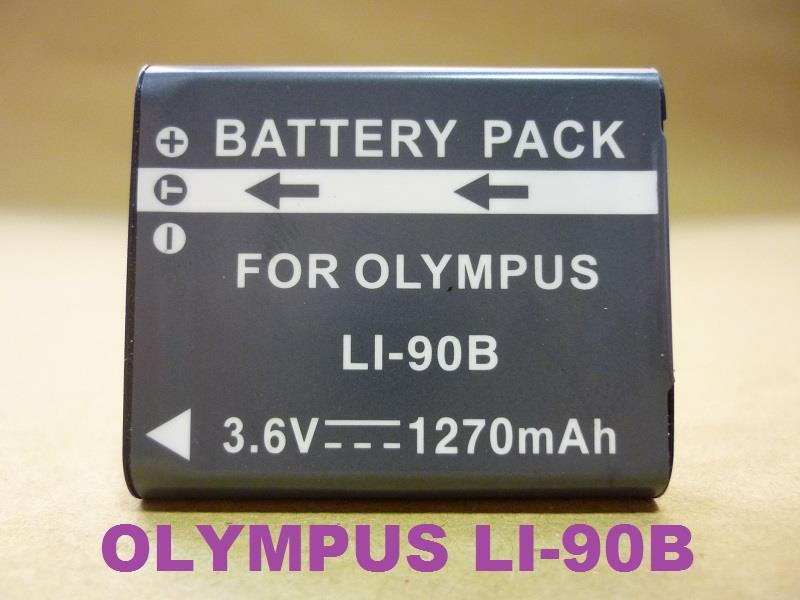 Replacement Battery for Olympus LI-90B 92B