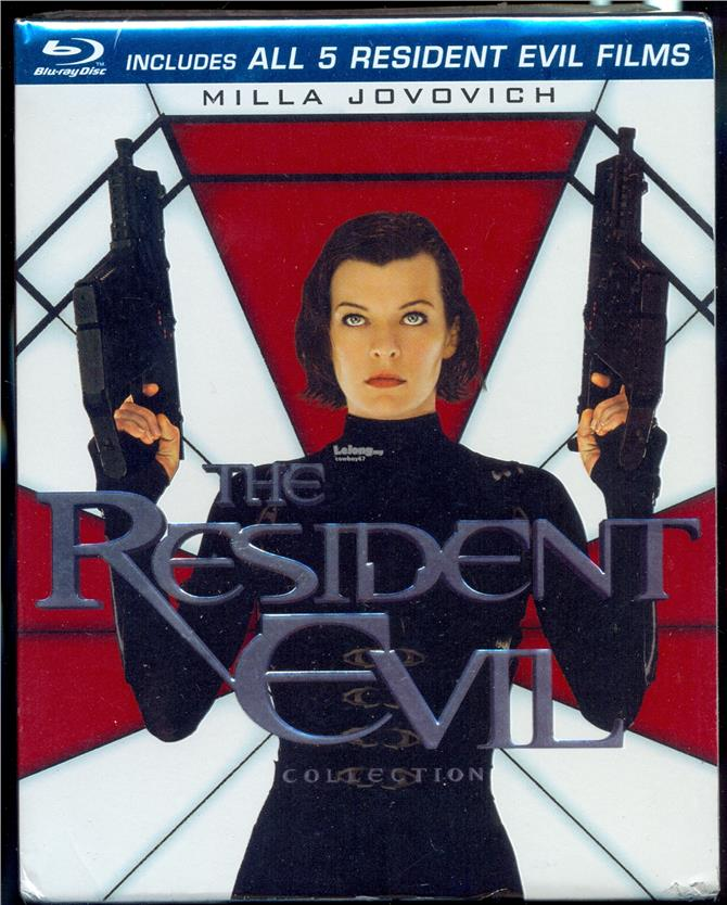 The Resident Evil Collection - New Blu-Ray Box Set