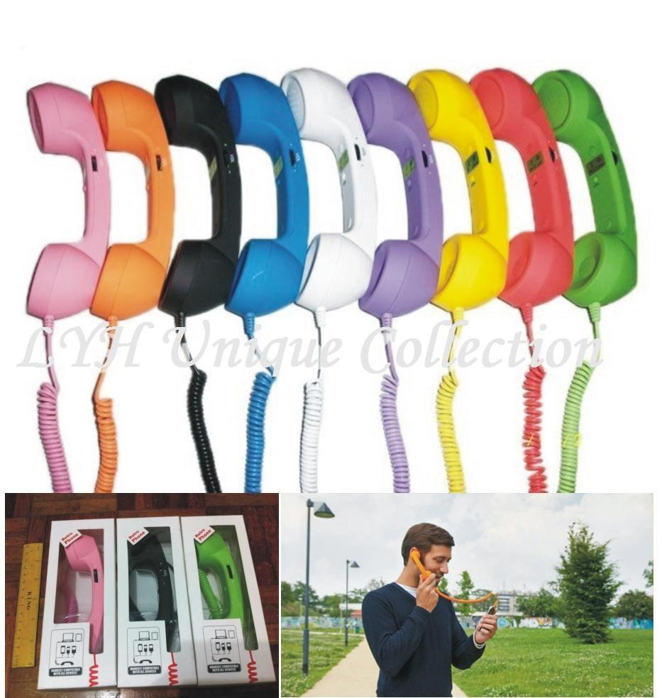 Retro Phone Handset Compatible for all Device Samsung Iphone Nokia PC