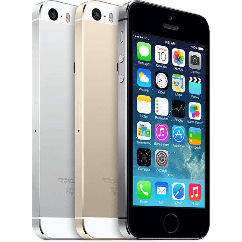 ++ RETRONS ++ APPLE iPHONE 5S 16GB 32GB 64GB UNLOCKED (NO TOUCH ID)