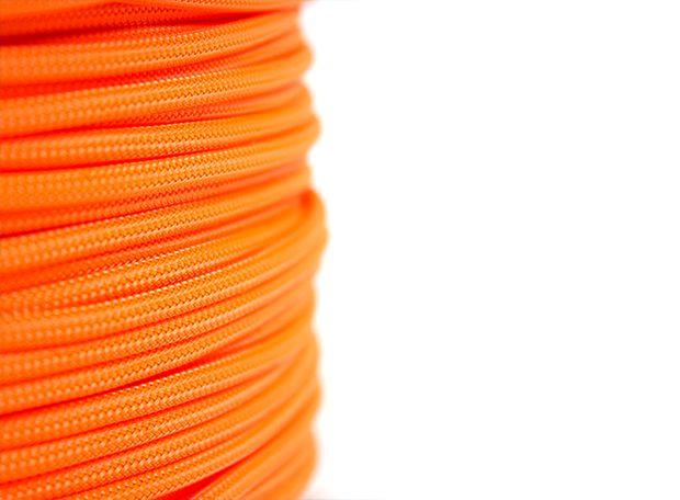 Revoluzion Technologia PET 4MM Sleeved Cable Cover - Orange Color