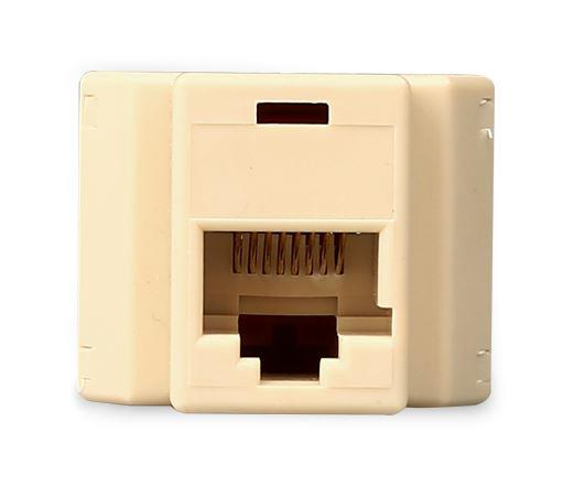 RJ45 Splitter 1 Female to 2 Female LAN RJ45 Connector Adapter, F266