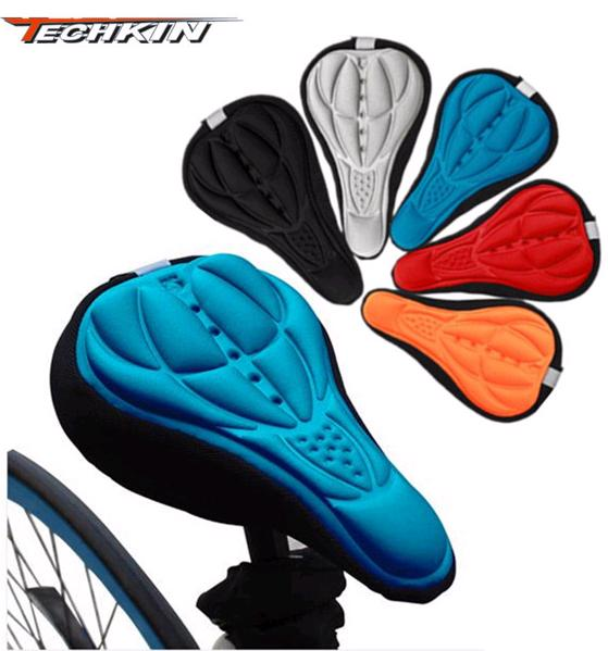 Road bike bicycle saddle ultra soft breathable cushion cover 3D stereo