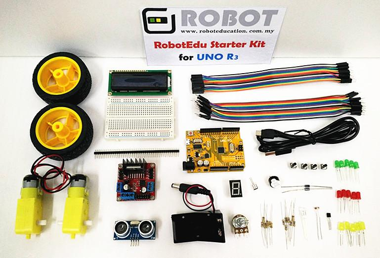 RobotEdu Arduino Compatible Starter Kit / Beginner Learning Kit