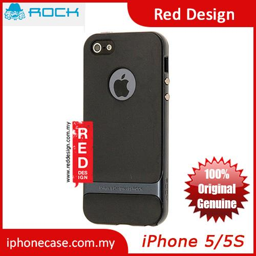 Rock Royce Series Double Layer Cover Case for iPhone 5 iPhone 5S- Meta