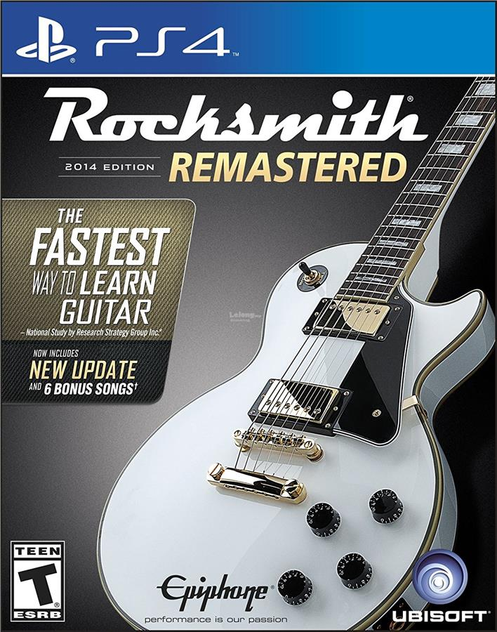 Rocksmith 2014 Edition Remastered - XboxPlayStation 4 Standard Edition