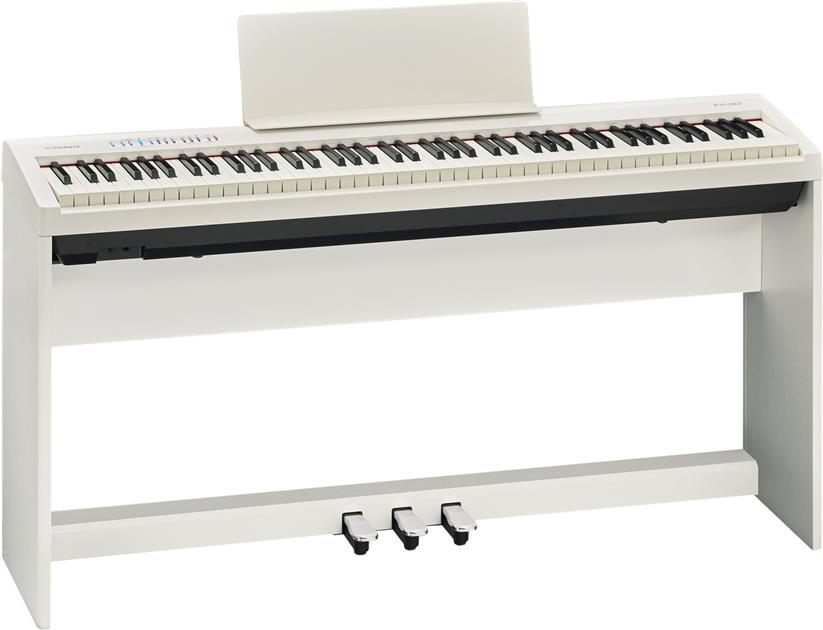 ROLAND FP-30 - 88-Keys Digital Piano with Stand & 3-Pedal (FREE Bench)