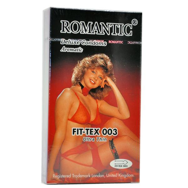 Romantic Deluxe Fit-Tex 003 Condom (Kondom) - 12's