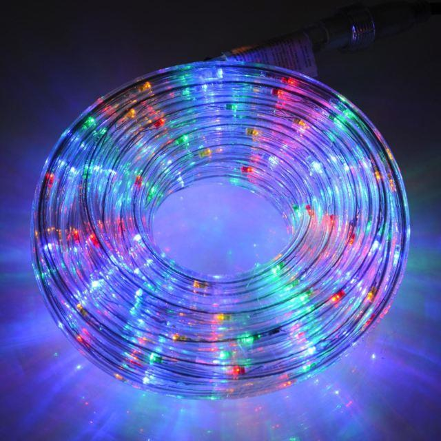 rope light led 10m multi color deco outdoor lighting 11street