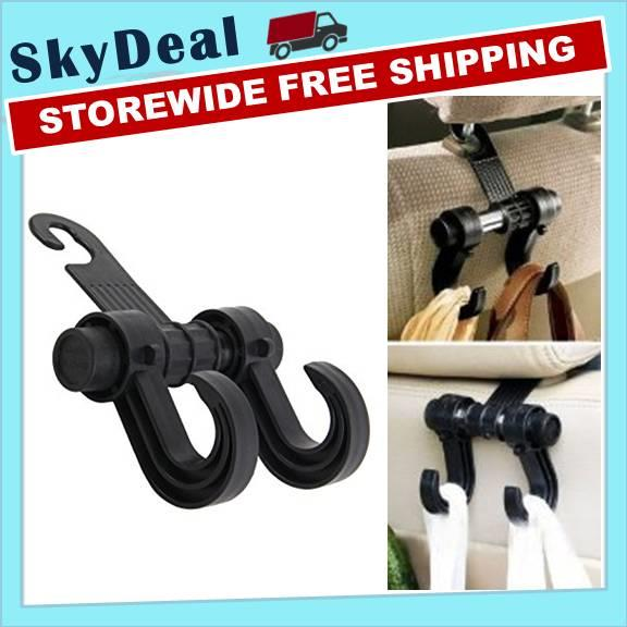 Rotating Hanger Hook Car Multifunction Double Vehicle