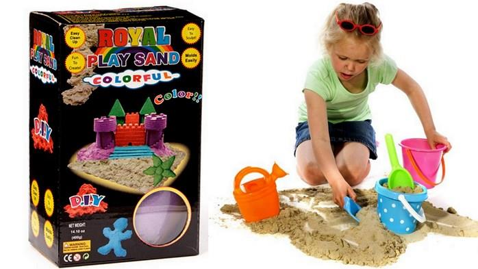 Royal Play Sand DIY Educational play Sand, Sand, kinetic sand