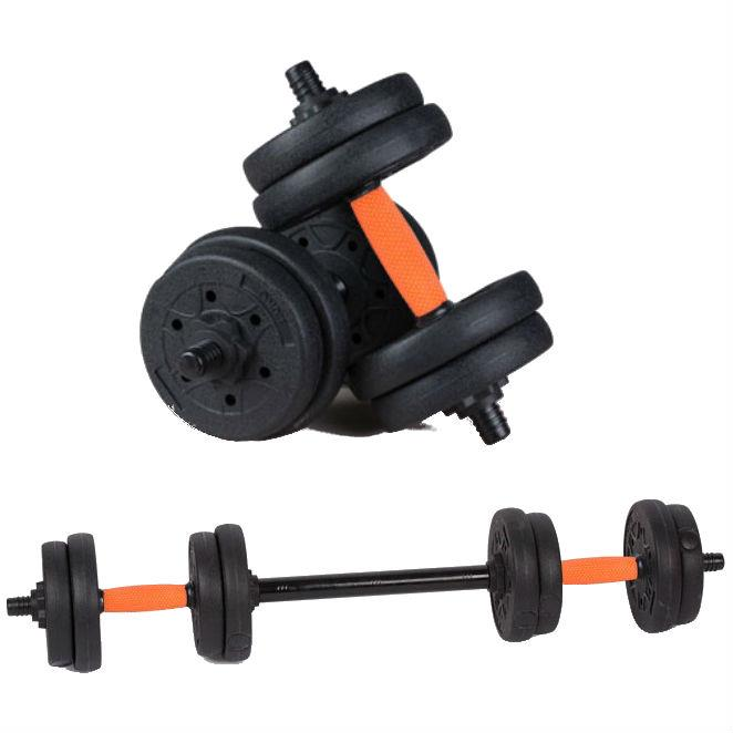 Rubber Dumbbell Fitness Dumbbells Free Connector Gym Fitness Equipment