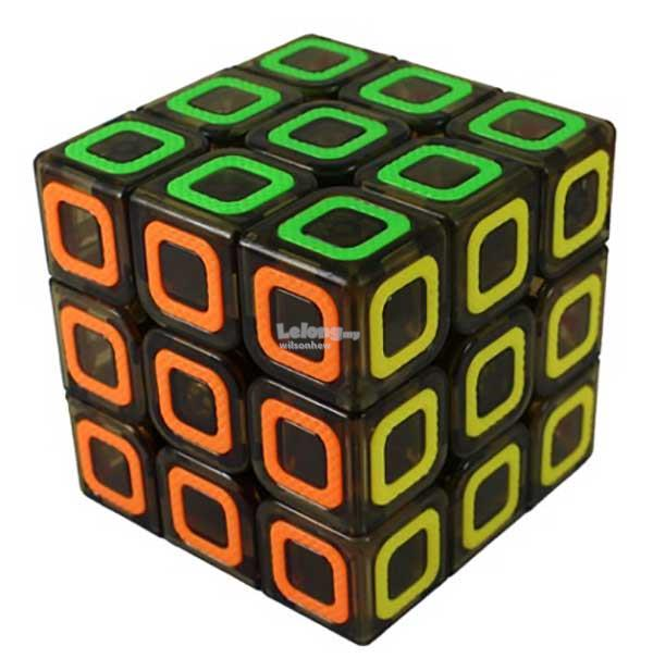Rubik's Cube - MoFangGe 3x3x3 Dimension Transparent Brown Colour