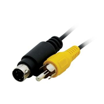 S.VIDEO 4PIN (M) TO RCA (M) CABLE, 5M, 5116