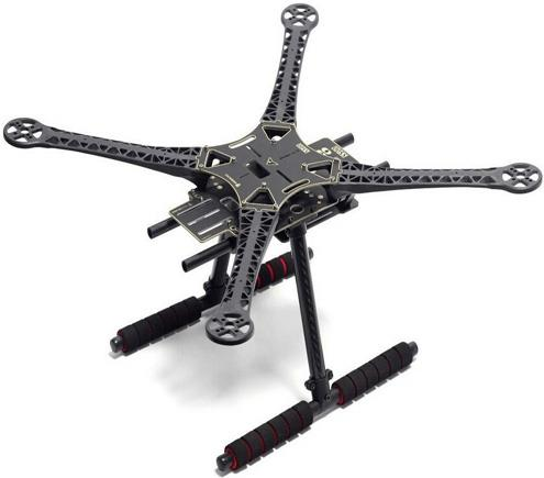 S500 PCB Version Quadcopter Frame Kit w Carbon Landing F450 Upgrade