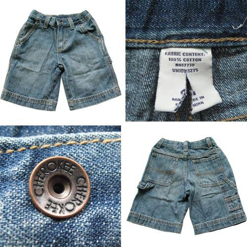 SALE NEW CHEROKEE BOY'S JEANS SHORTS 6YRS ONLY!!!