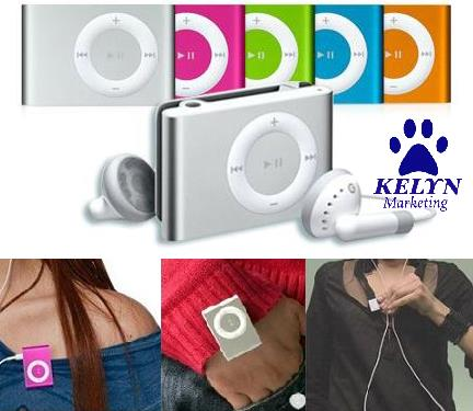 Sale - Silver Colour - Portable Mini Clip MP3 Player