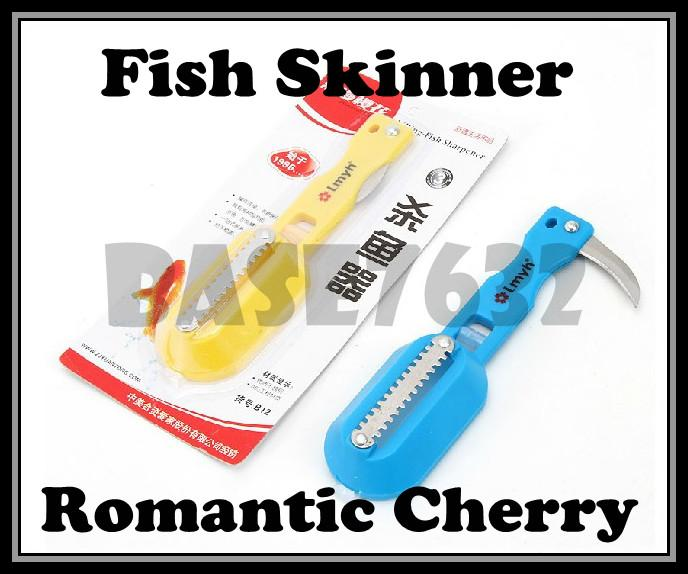 Sales!  Fish Scale Remover Killer Cleaner Scrapper Skinner w/ Blade