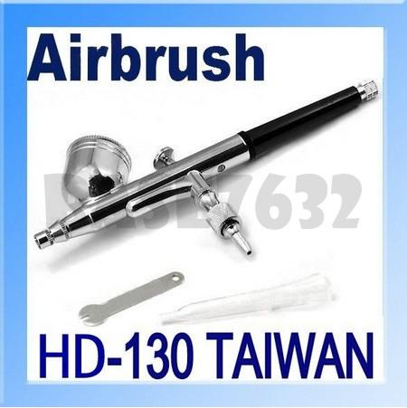 Sales! HD-130 Airbrush Spray Gun 0.3mm  Needle Nail Art Tool Air Brush