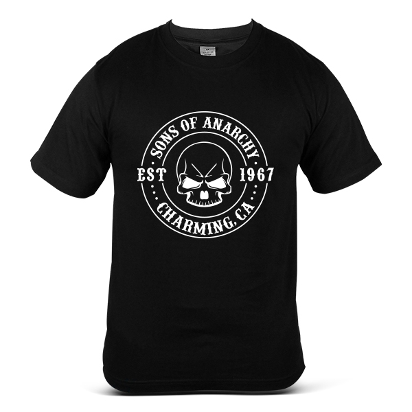 SAMCRO Sons Of Anarchy Skull Reaper Motorcycle 1967 Charming T-Shirt