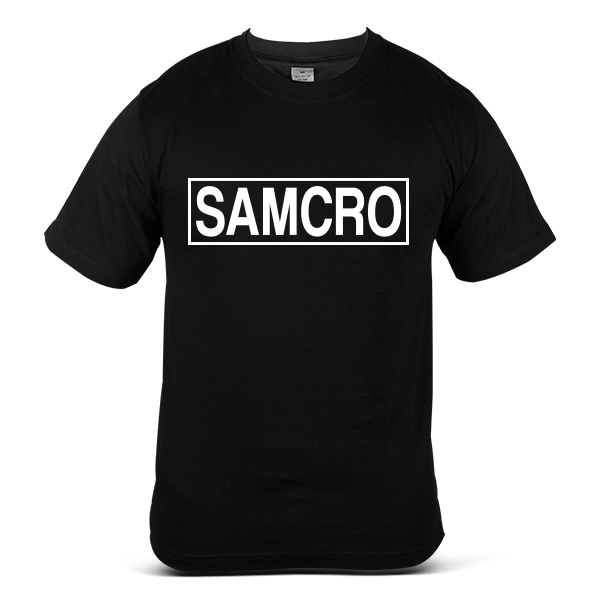 SAMCRO Sons Of Anarchy Skull Reaper Motorcycle Sport Bike T-Shirt 9