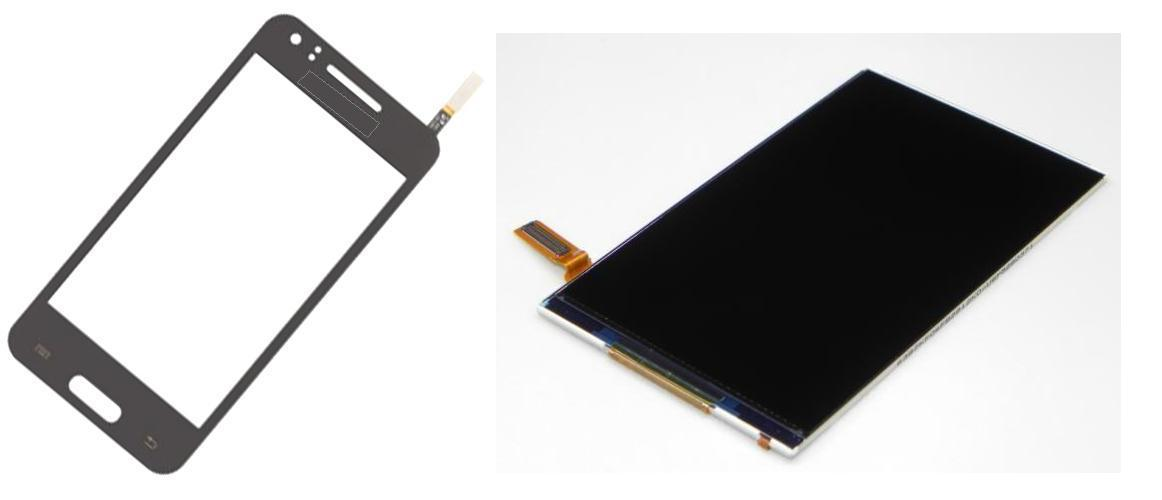 Samsung Beam i8530 Display Lcd / Digitizer Touch Glass Screen