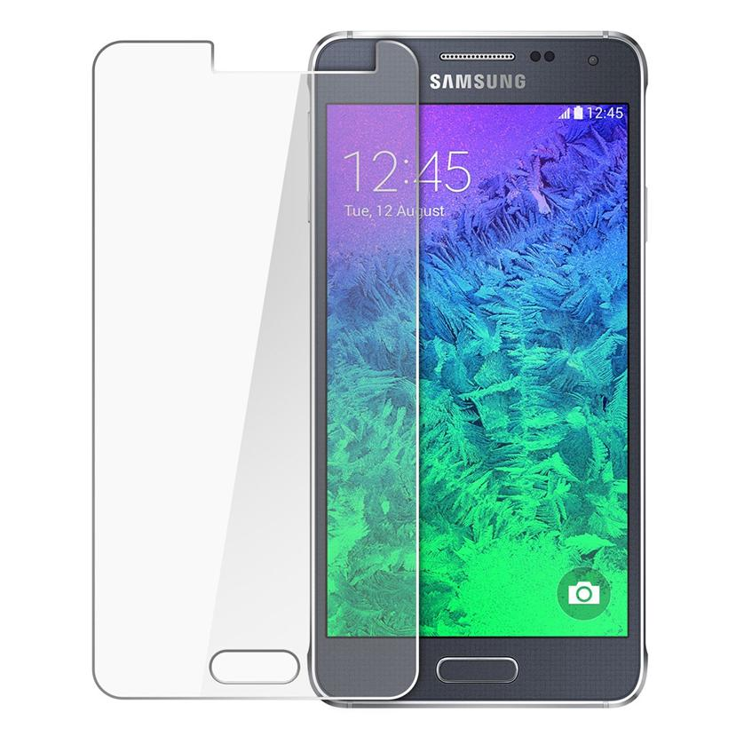 Samsung Galaxy Alpha 9H Premium Tempered Glass Screen Protector