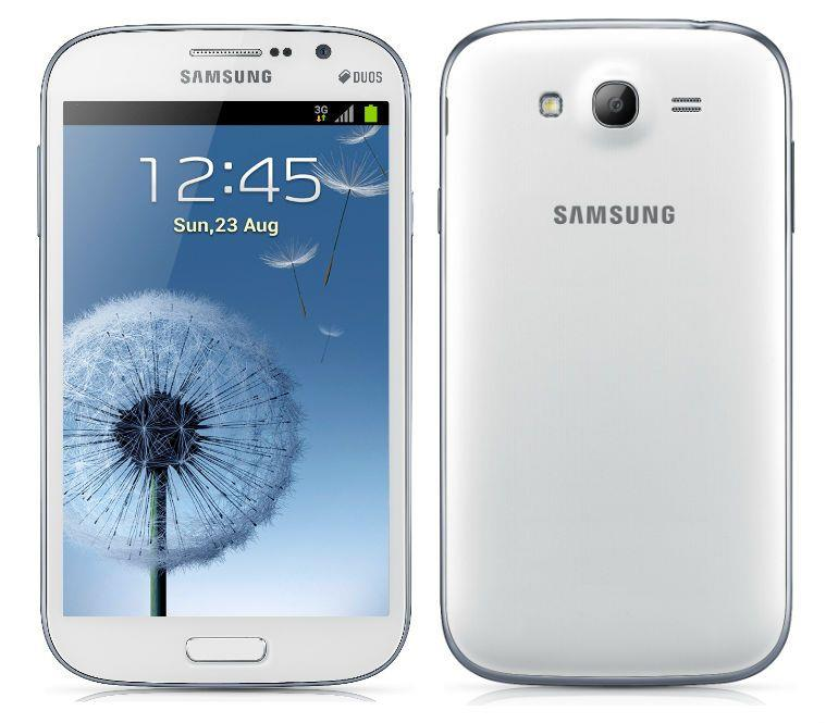Samsung Galaxy Grand I9082 White Duos (Free Tempered Glass)