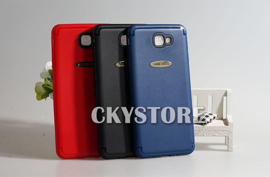 SAMSUNG Galaxy J7 Prime PU Leather TPU Case Cover