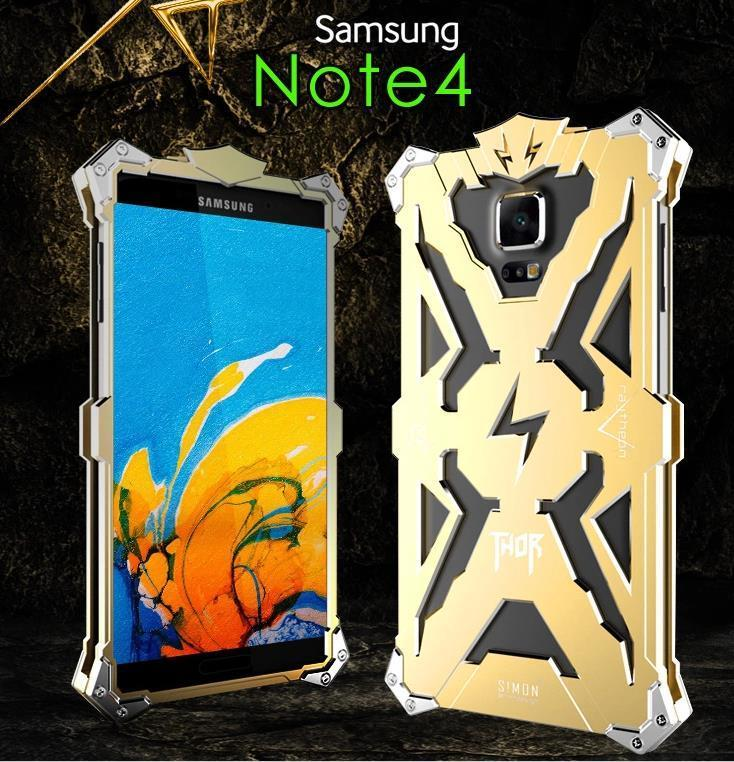 Samsung Galaxy Note 3 4 5 Aluminium Thor Metal Case Cover Casing +Gift