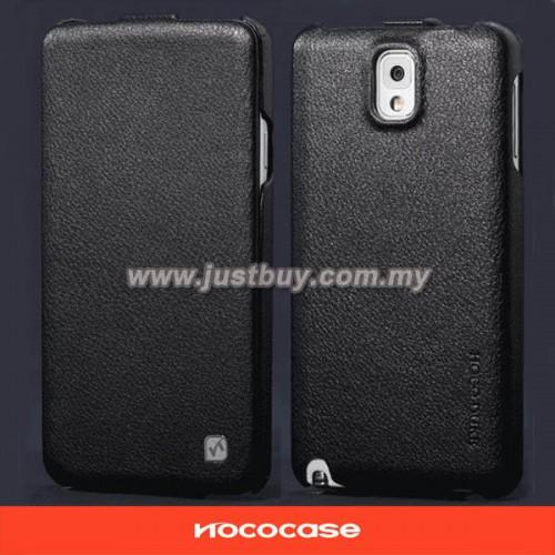 Samsung Galaxy Note 3 HOCO Premium Genuine Leather Case - Black