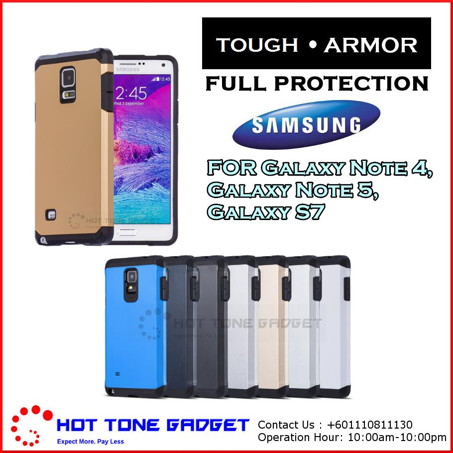 Samsung Galaxy Note 4 5 7 S7 S8 Plus Spigen SGP Tough Armor Cover Case
